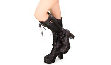 オーディション写真の撮影で厚底なブーツは履いても大丈夫?