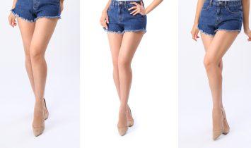 写真撮影で足を細く見せるポーズのコツは足首と膝