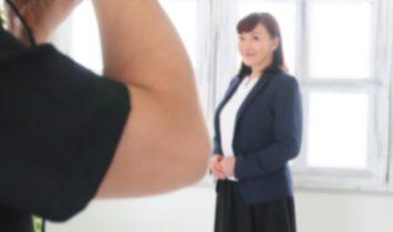 真面目な印象のビジネス用プロフィール写真の撮影